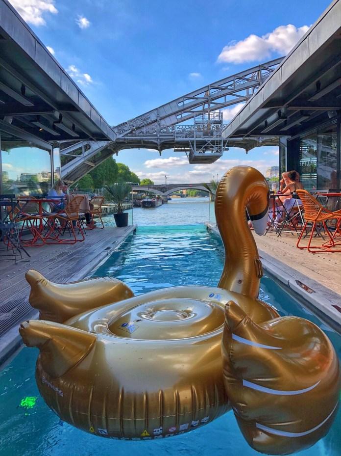 Hôtel OFF Paris Seine : La piscine