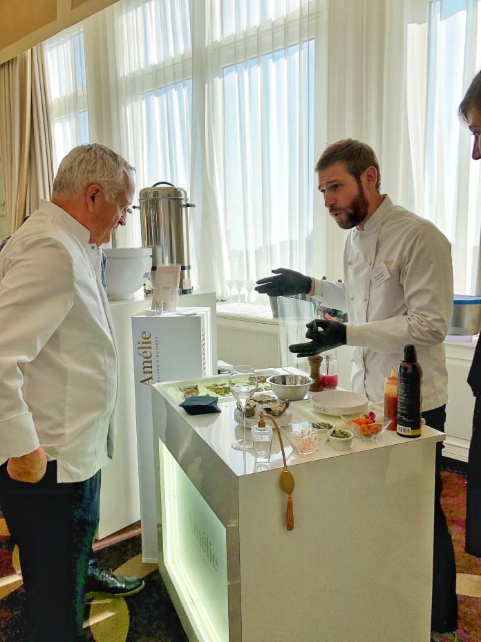 Discovery Day 2018 : Huîtres Amélie et le chef Edgard Bovier