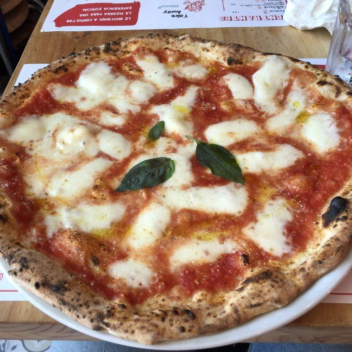 Da Me pizzeria - pizza Margharita