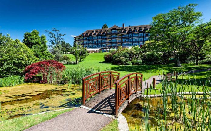 Brunch à l'hôtel Ermitage : Devanture de l'hôtel