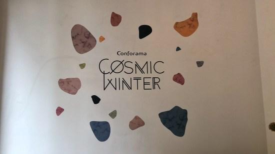 Cosmic Winter Conforama Suisse - Entrée du Showroom Parisien