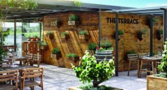 Hotel Fairmont Rey Juan Carlos I à Barcelone, Restaurant The Terrace - Crédit images Booking.com