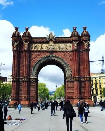 Arc de Triomf Barcelone
