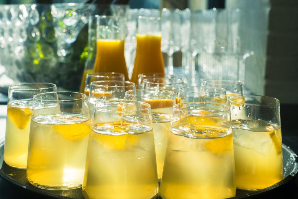 limonade op een netwerk event