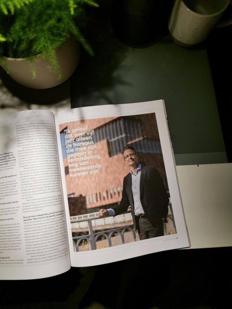 Portretfoto aan het MAS in magazine