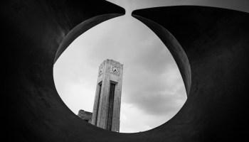Brussel Noord in zwart wit met smartphone fotografie