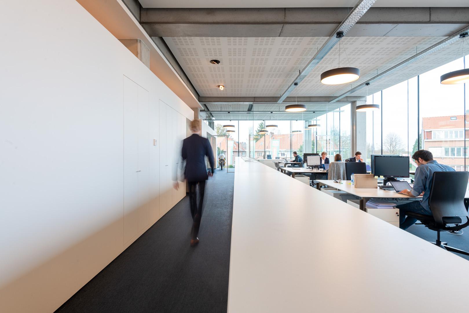 Dynamische beelden op kantoor
