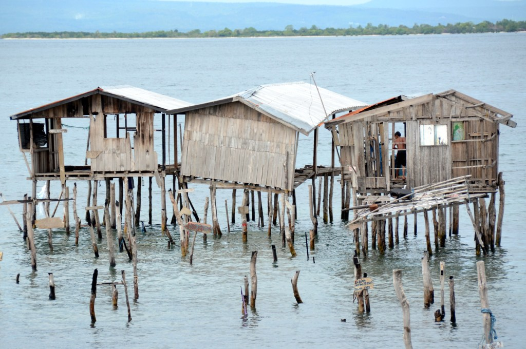 Stilt houses in Zamboanga