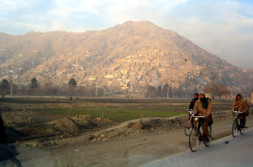 Biking in Kabul