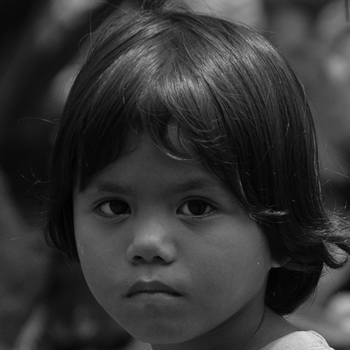 Little boy in Mindanao