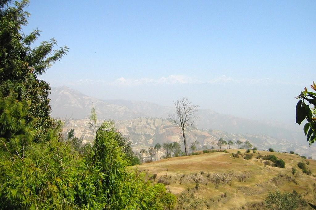 Outside Kathmandu