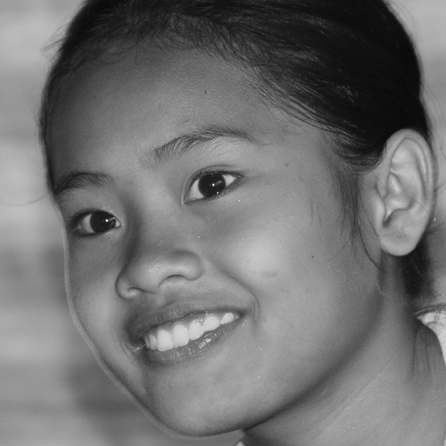 Young girl from Maguindanao