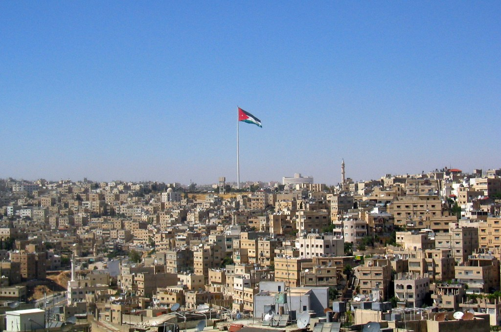 The flag in Amman