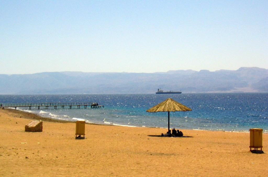 Beach near Aquaba
