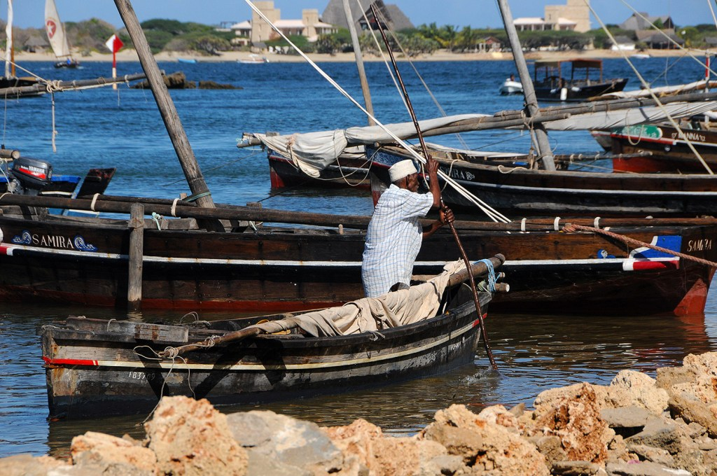Old fisherman in Lamu