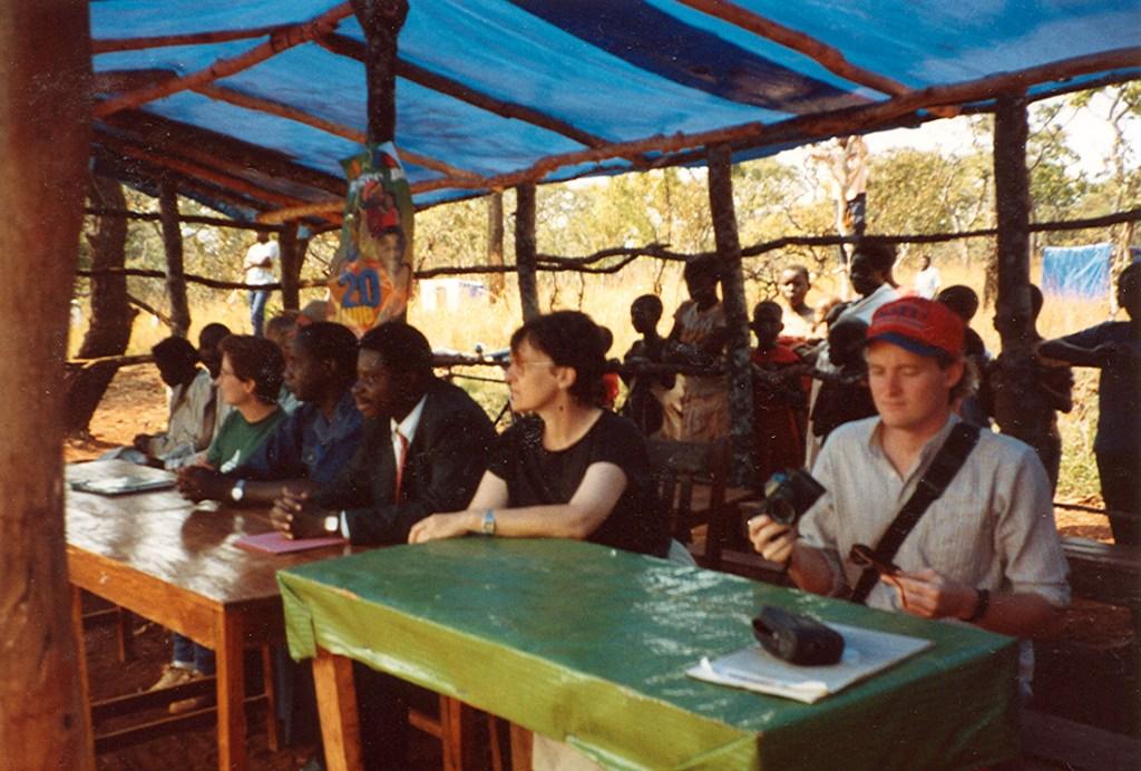 refugee day in a camp near Kibondo
