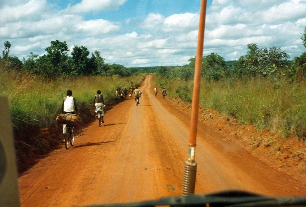 road in Kibondo