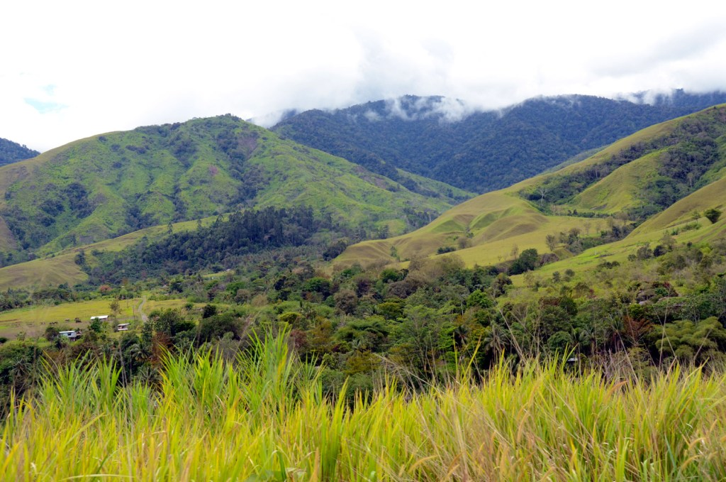 Hills in Papua New Guinea