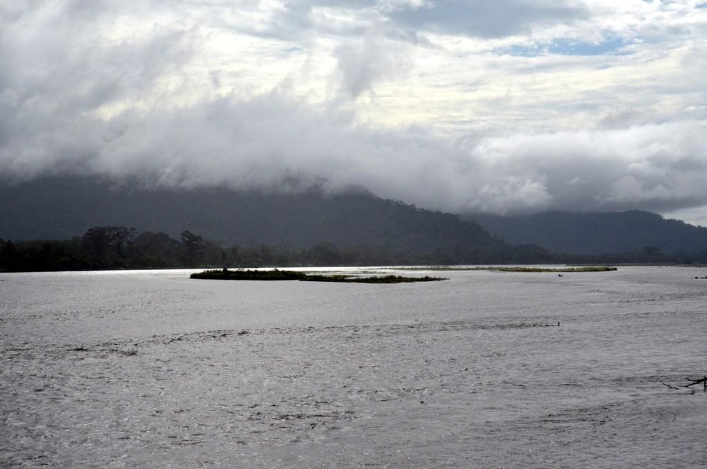 Markham river in Papua New Guinea