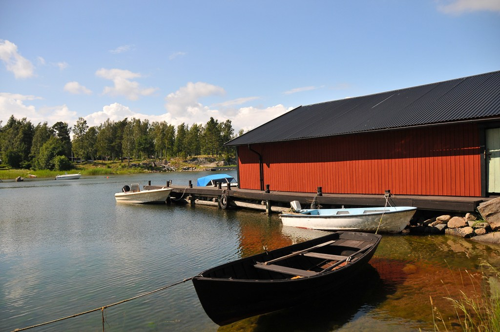 boathouse in sweden