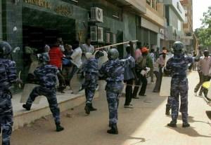 Sudan police septembre 2013 peoplesworld