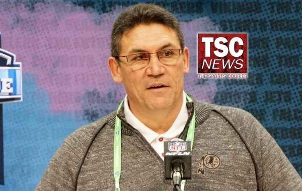 Washington Redskins head coach Ron Rivera