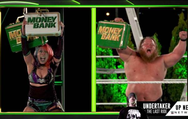 WWE Money in The Bank 2020 Results