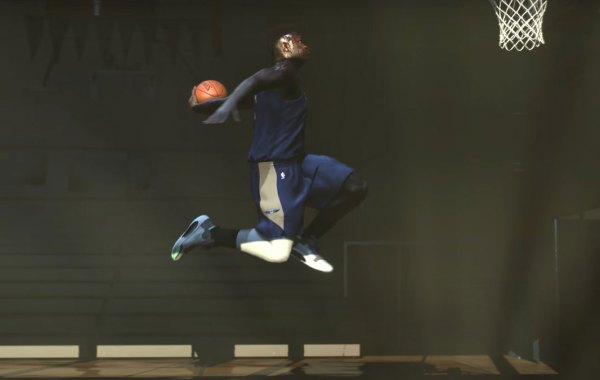 Zion Williamson on NBA 2K21