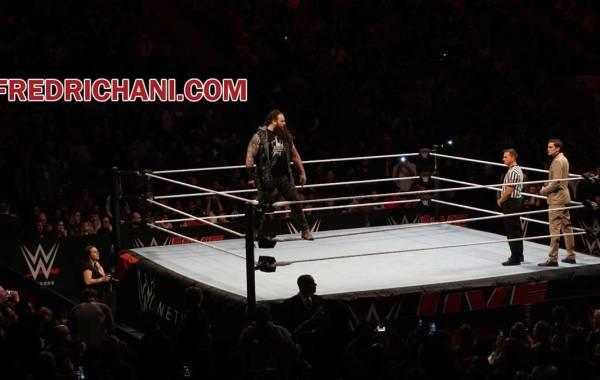 WWE wrestler Bray Wyatt (Windham Rotunda). Fred Richani Photo.
