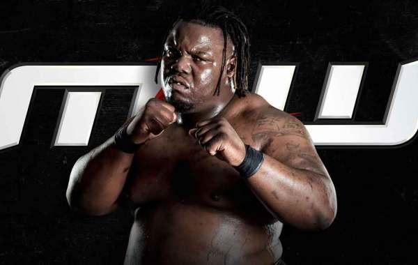 MLW wrestler Calvin Tankman