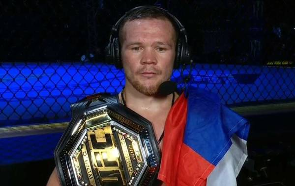 UFC bantamweight champion Petr Yan. Courtesy of UFC.com.