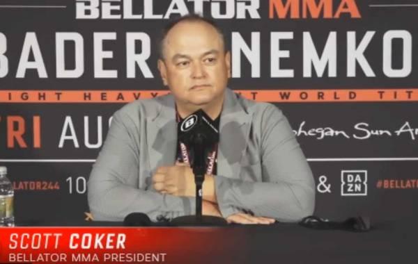 Bellator MMA President Scott Coker