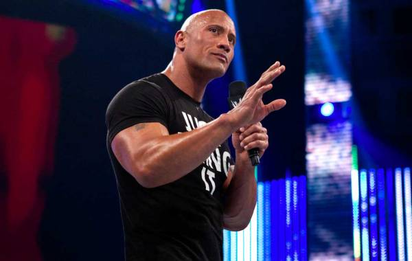 "Dwayne ""The Rock"" Johnson. Courtesy of WWE.com."