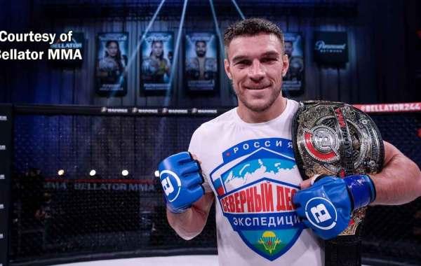 Bellator light heavyweight champion Vadim Nemkov. Courtesy of Bellator MMA.