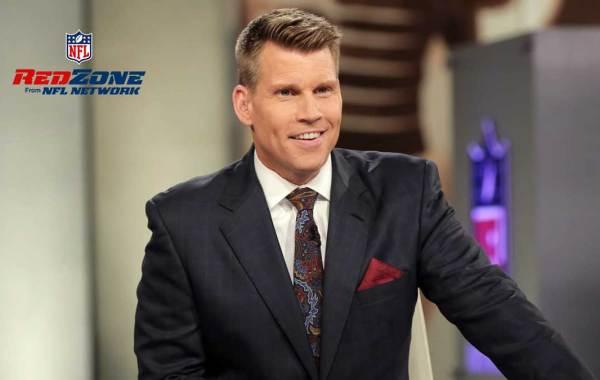 NFL RedZone Channel host Scott Hanson. Courtesy of NFL.