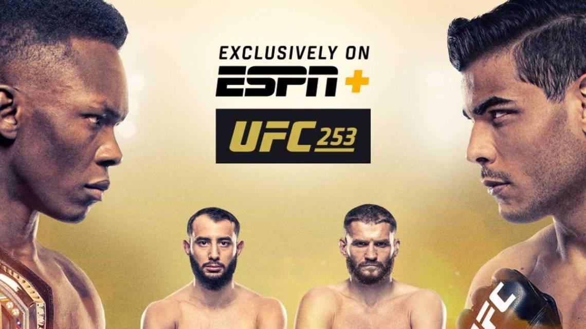 UFC 253: Adesanya vs. Costa, Reyes vs. Blachowicz Results. Image courtesy of UFC/ESPN.