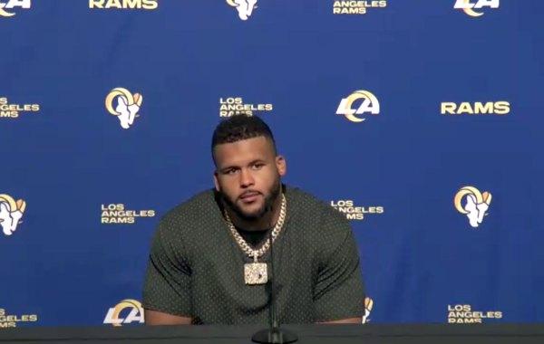 Los Angeles Rams defensive tackle Aaron Donald. Courtesy of LA Rams.