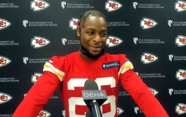 Kansas City Chiefs running back Le'Veon Bell. Courtesy of Chiefs.