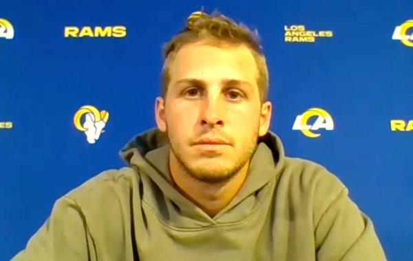 Los Angeles Rams quarterback Jared Goff. Courtesy of LA Rams.