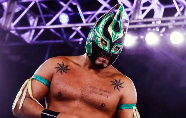 AAA Luchador Laredo Kid. Courtesy of AAA and MLW.