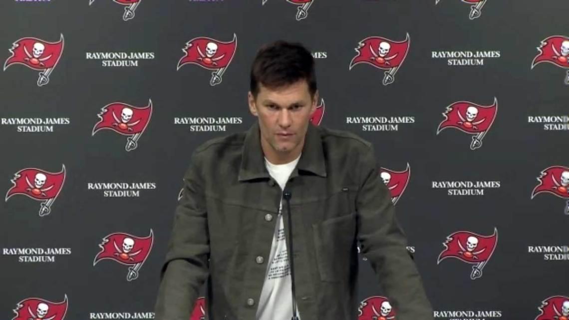 Tampa Bay Buccaneers quarterback Tom Brady. Courtesy of Buccaneers.