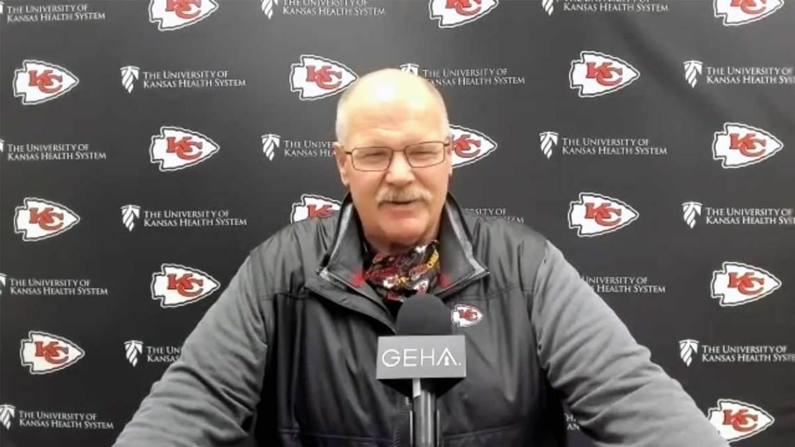 Kansas City Chiefs Head Coach Andy. Courtesy of Chiefs.