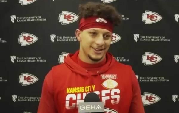 Kansas City Chiefs quarterback Patrick Mahomes. Courtesy of Chiefs.