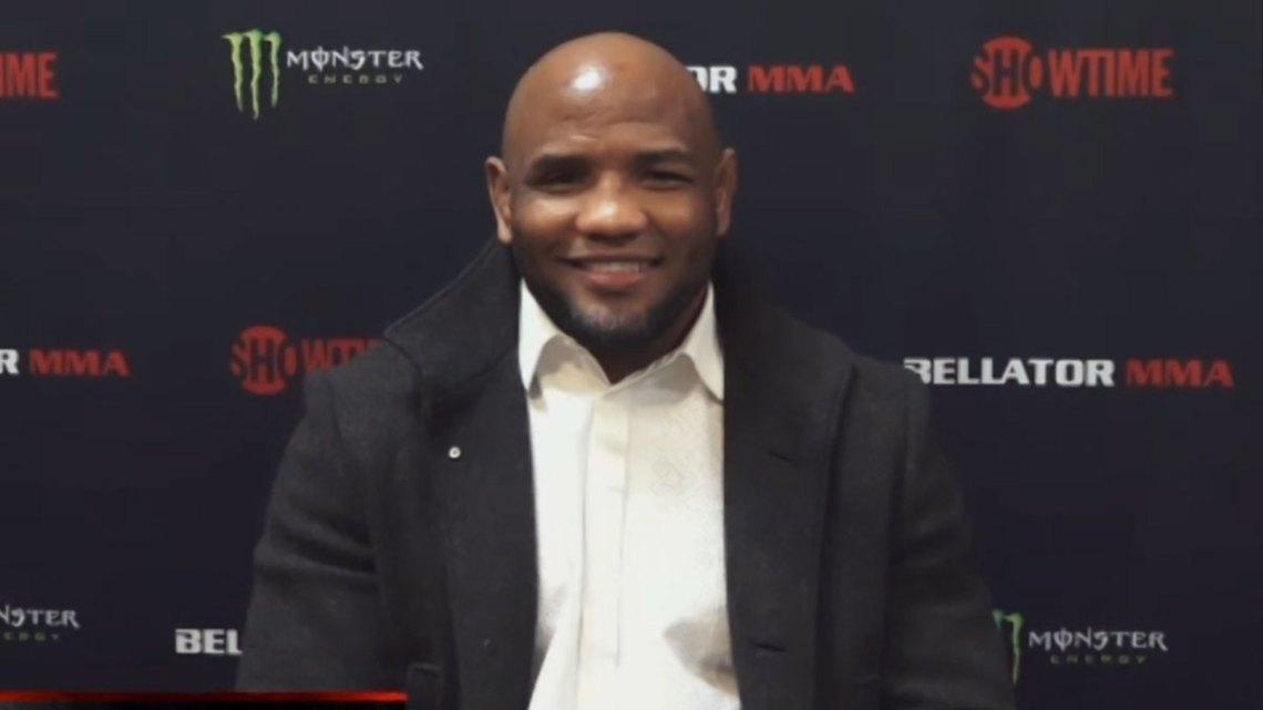 Bellator MMA light heavyweight and former UFC fighter Yoel Romero. Courtesy of Bellator MMA.