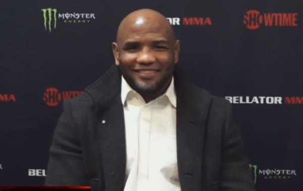Bellator MMA light heavyweight and former UFC fighter Yoel Romero. Courtesy of Bellator MMA.