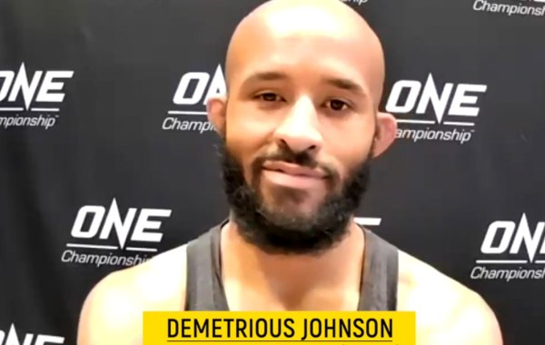 "Former UFC flyweight champion Demetrious ""Mighty Mouse"" Johnson. Courtesy of ONE Championship."