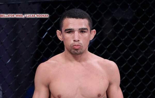 Bellator MMA fighter Leandro Higo. Courtesy of Bellator MMA / Lucas Noonan.