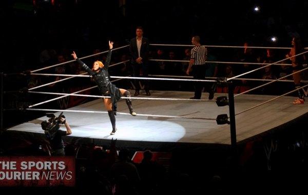 WWE wrestler Becky Lynch. Fred Richani Photo.