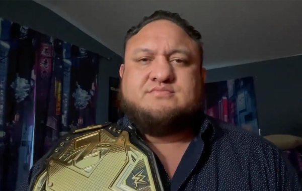WWE wrestler Samoa Joe.