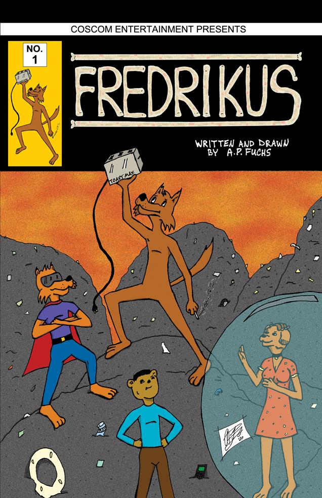Fredrikus No. 1, Front Cover